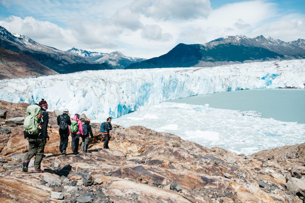 Glacier Trecking with Patagonia Aventura on the Viedma Glacier