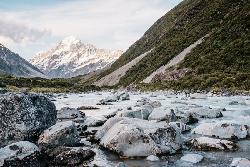 Hooker Valley Track to Mount Cook Aoraki