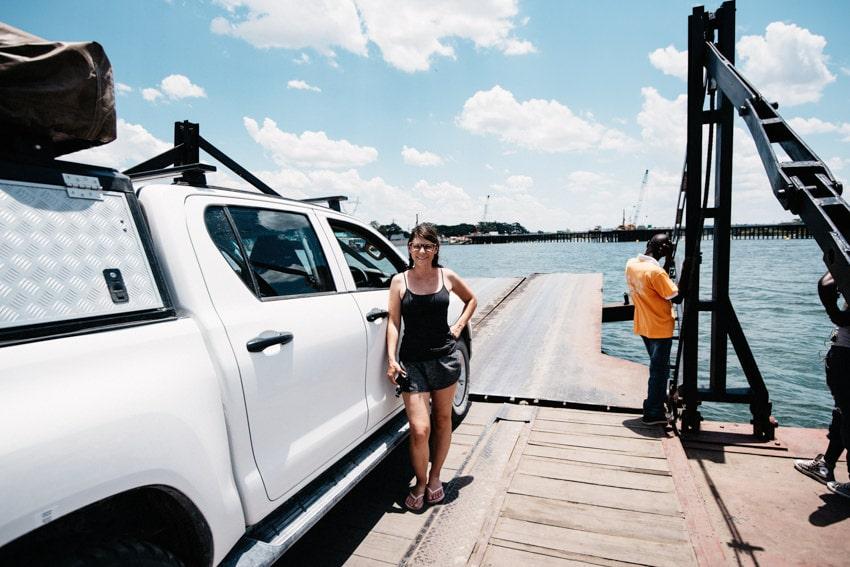 Border Crossing Kazungula Ferry