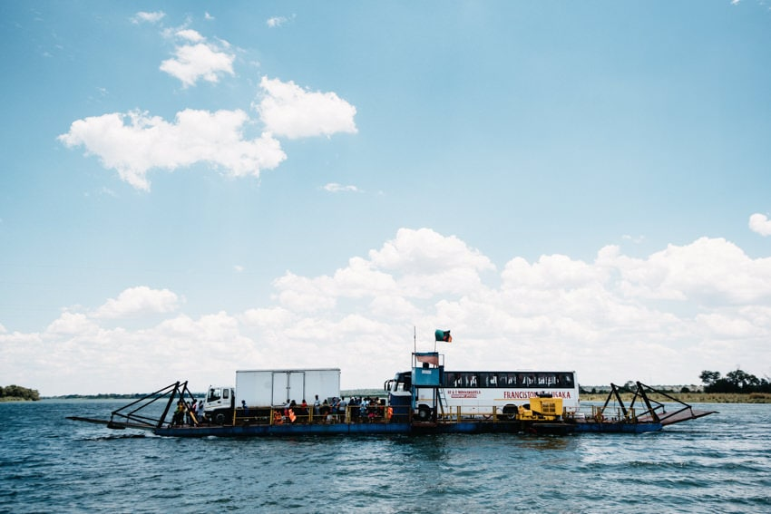Border Crossing Kazungula Ferry