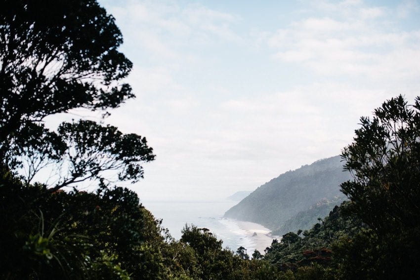 Panoramic View over Heaphy Track