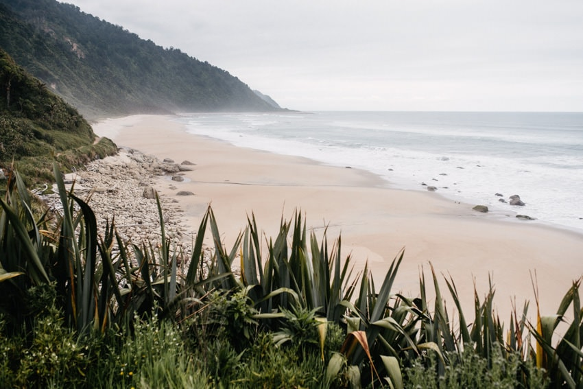 Lonely Beach at the Heaphy Track