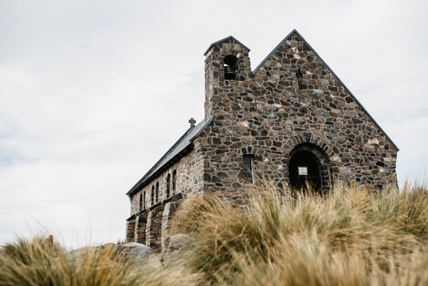Old Sheppard Church Lake Tekapo
