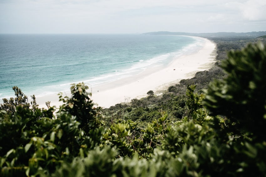 Cape Byron Walking Track Outlook Beach
