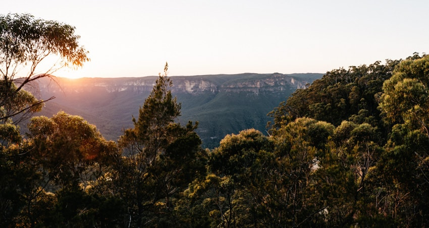 Blue Mountains Canyon
