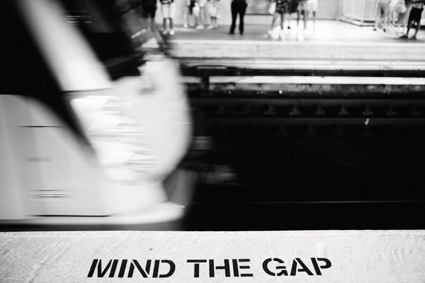 Metro Sydney Mind the Gap