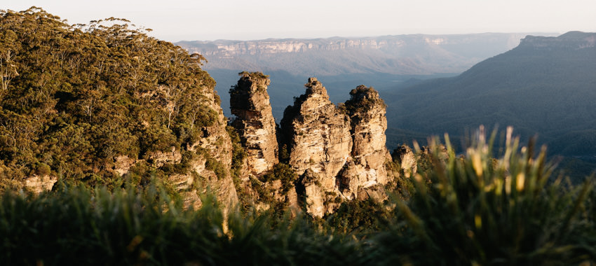 Three Sisters Katoomba Sunset