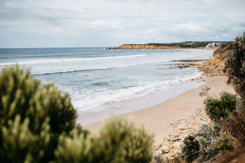 Bells Beach Shoreline