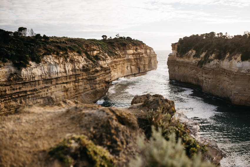 Loch Ard Gorge at sunset