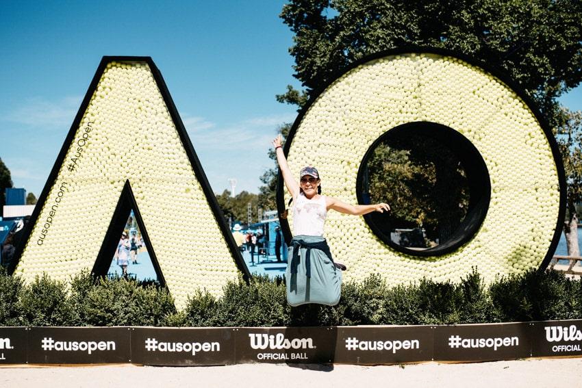 Entrance to Australian Open