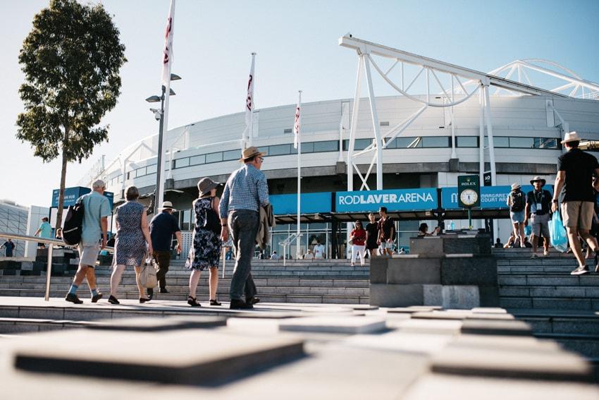Australian Open Rod Laver Arena Outside