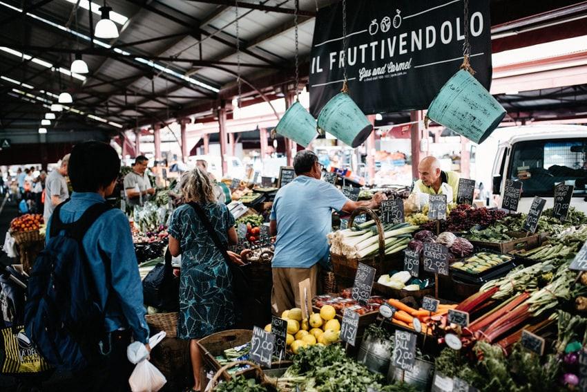 Queen Victoria Market Vegetable Stand