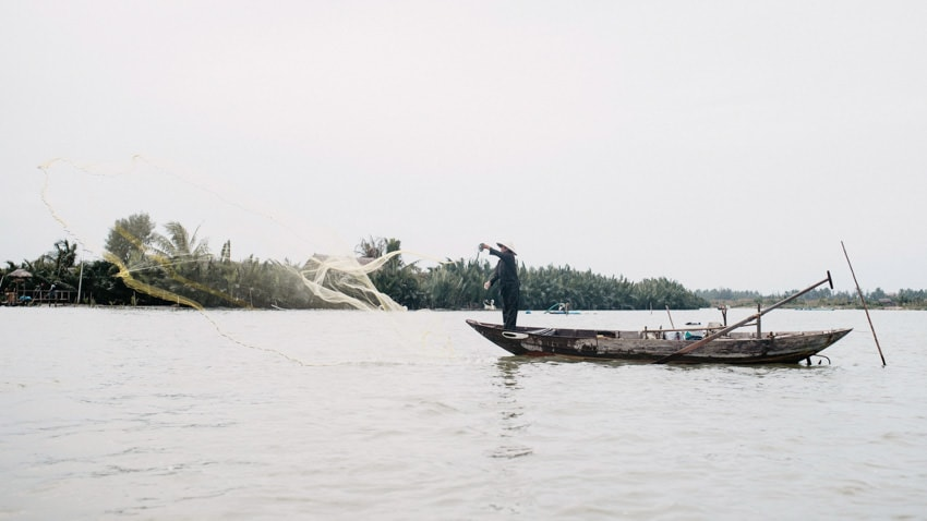 Local Fisherman in Cam Thanh