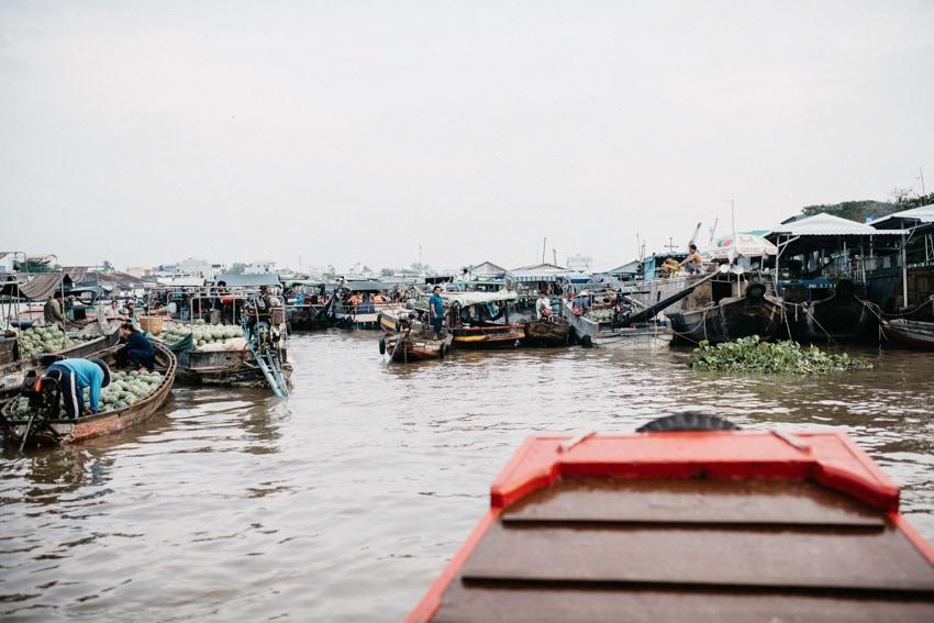 Mekong Delta Cai Rang Floating Market
