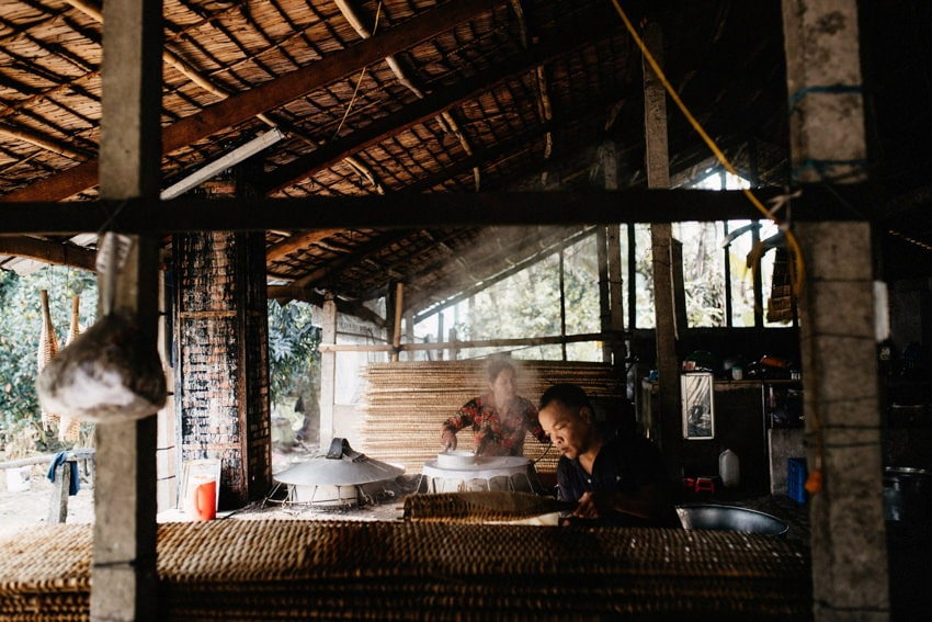 Mekong Delta Rice Noodle Manufacturing