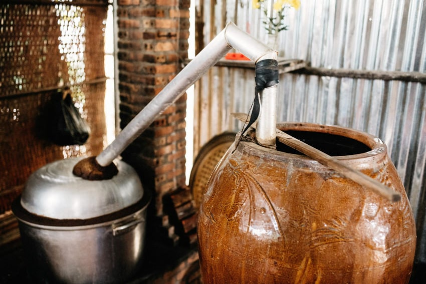 Snake Wine Production in the Mekong Delta