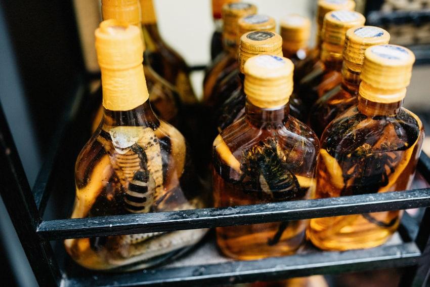 Snake Wine Mekong Delta