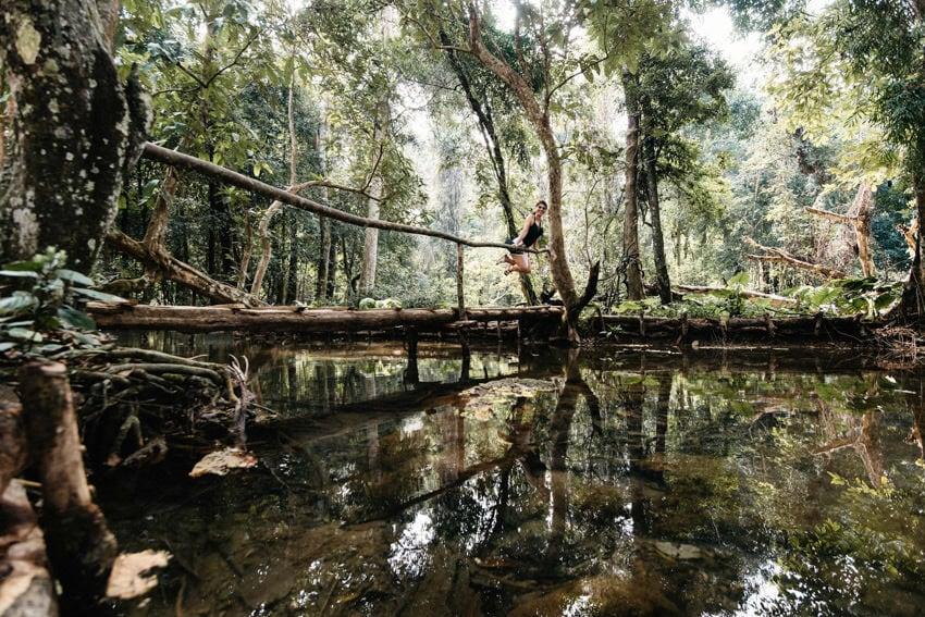 Laos Kuang Si Waterfalls 3