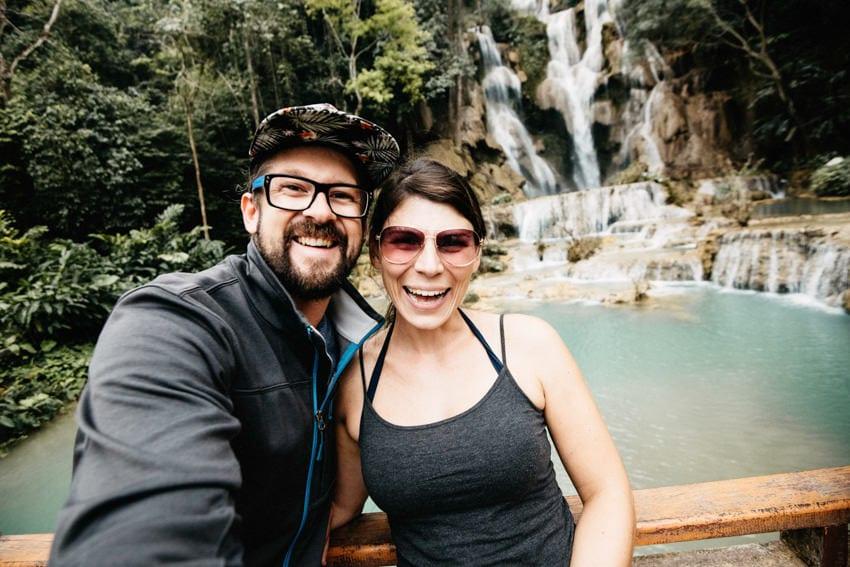 Laos Kuang Si Waterfalls 4