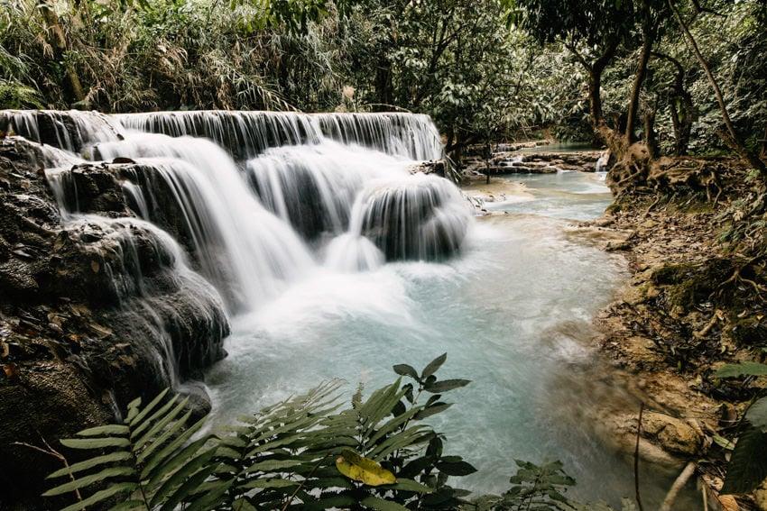 Laos Kuang Si Waterfalls 5