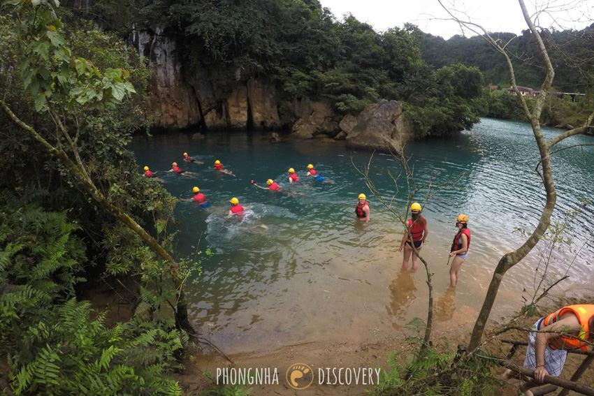 Phong Nha Kẻ Bàng National Park Paradise Zipline Dark Cave 3