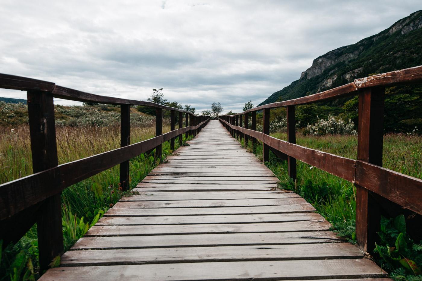 Argentina National Park Tierra del Fuego Beagle Channel Bahia Lapataia Walkway