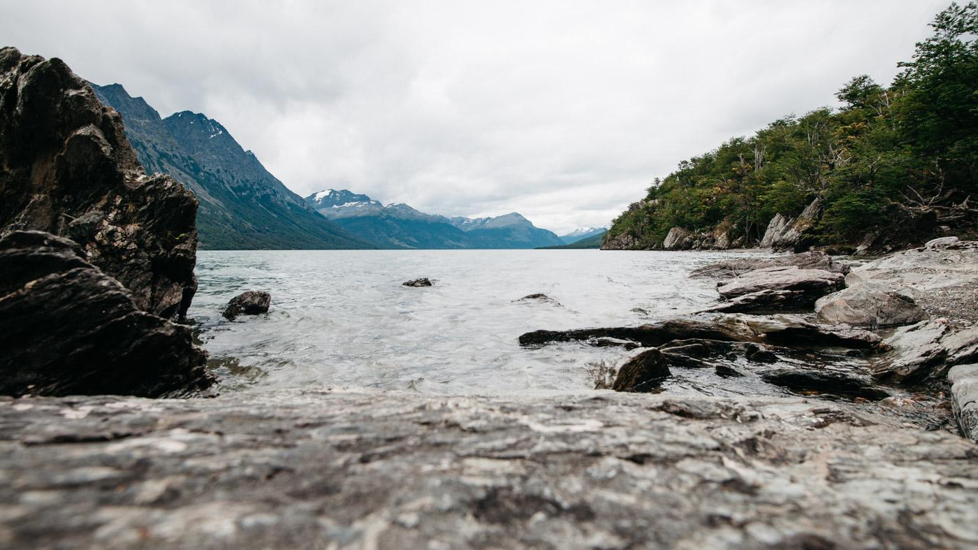 Argentina National Park Tierra del Fuego Beagle Channel HITO XXIV Lago Roca