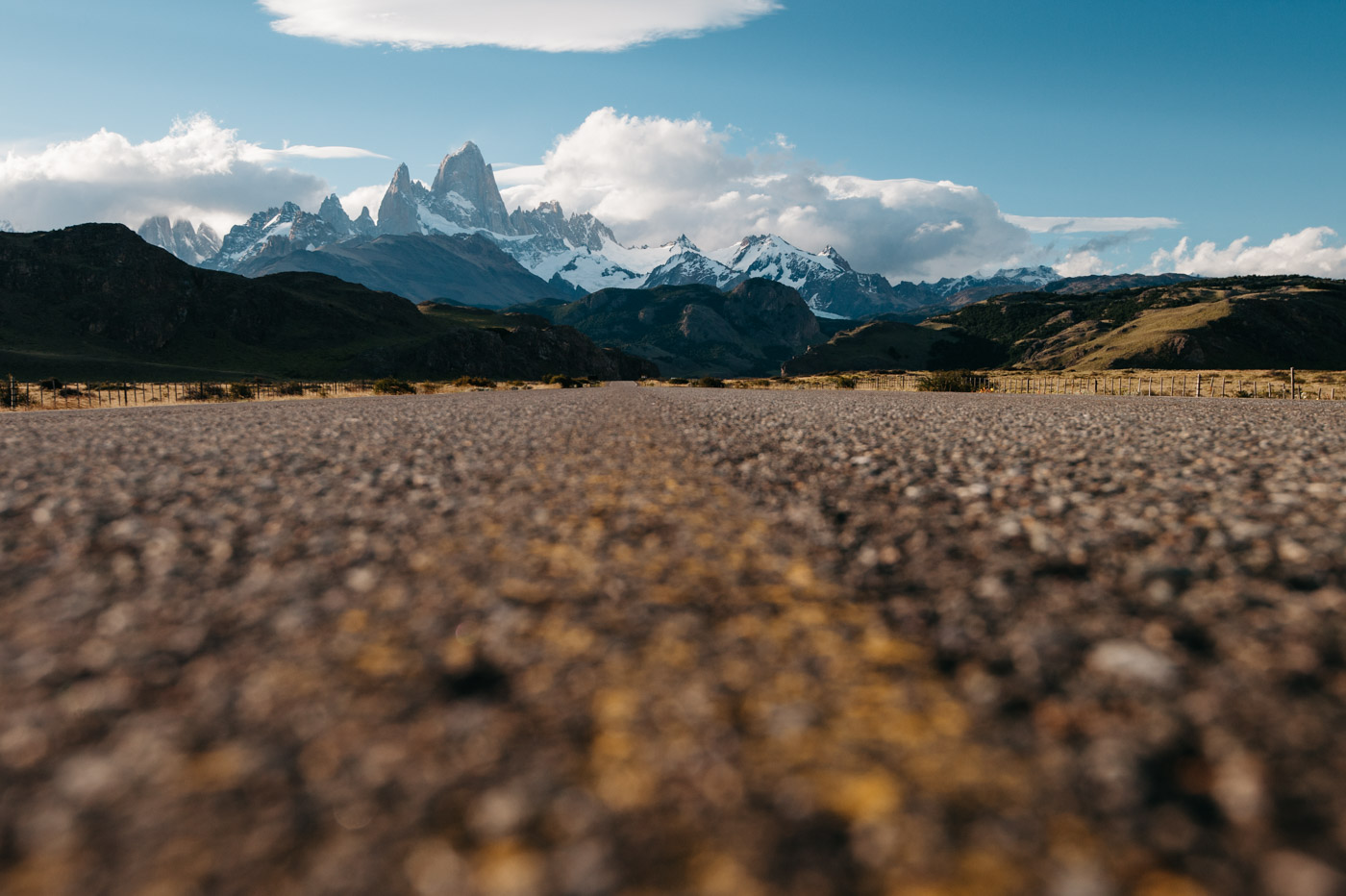Impressions Driving Camping Patagonia Mount Fitz Roy