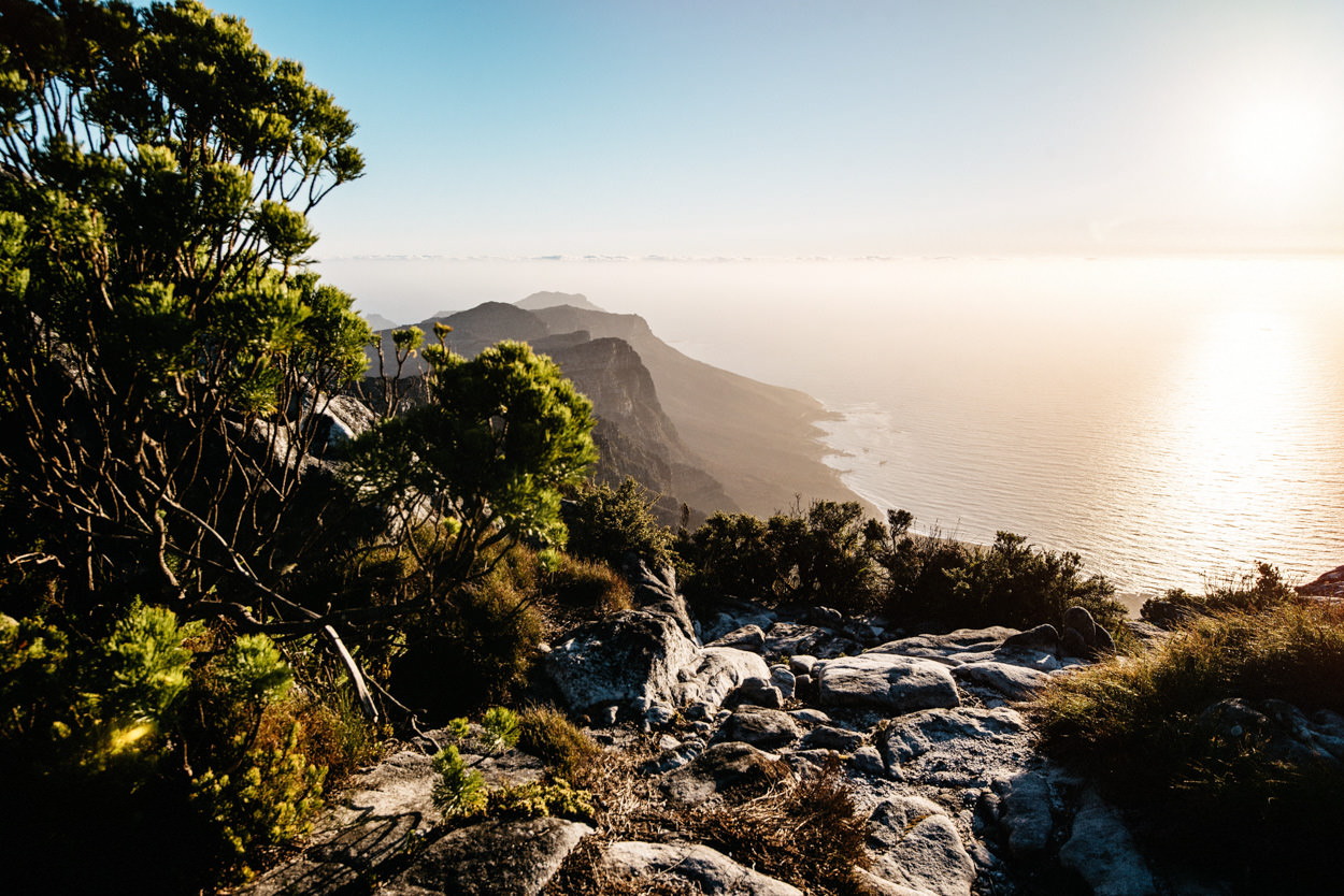 Cape-Town-Table-Mountain Sunset