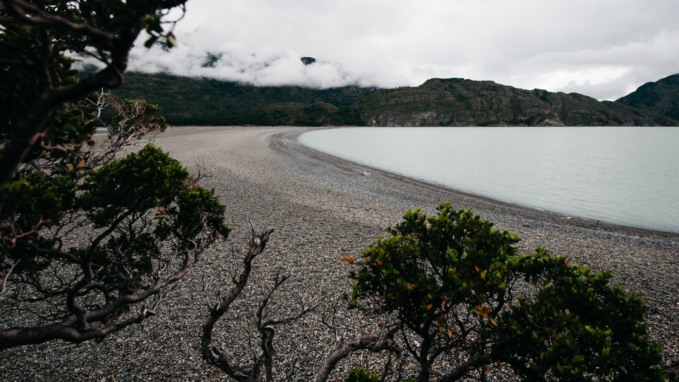 South shore of the Grey Lake