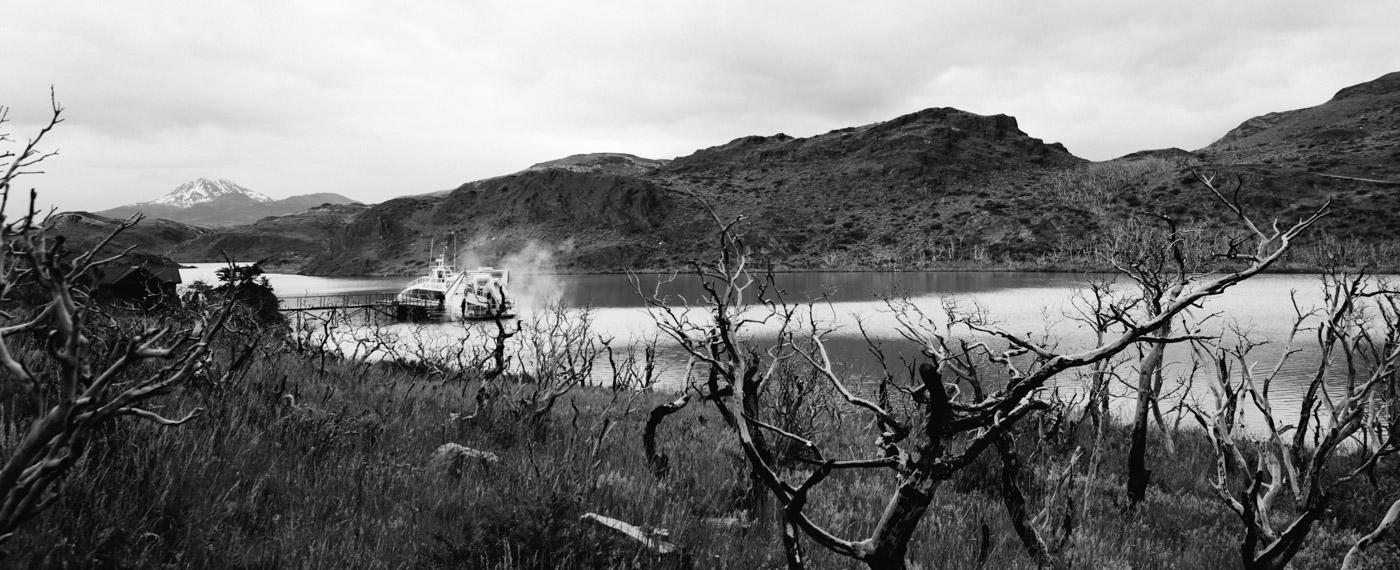 Catamaran Hielos Patagonicos Lago Pehoe
