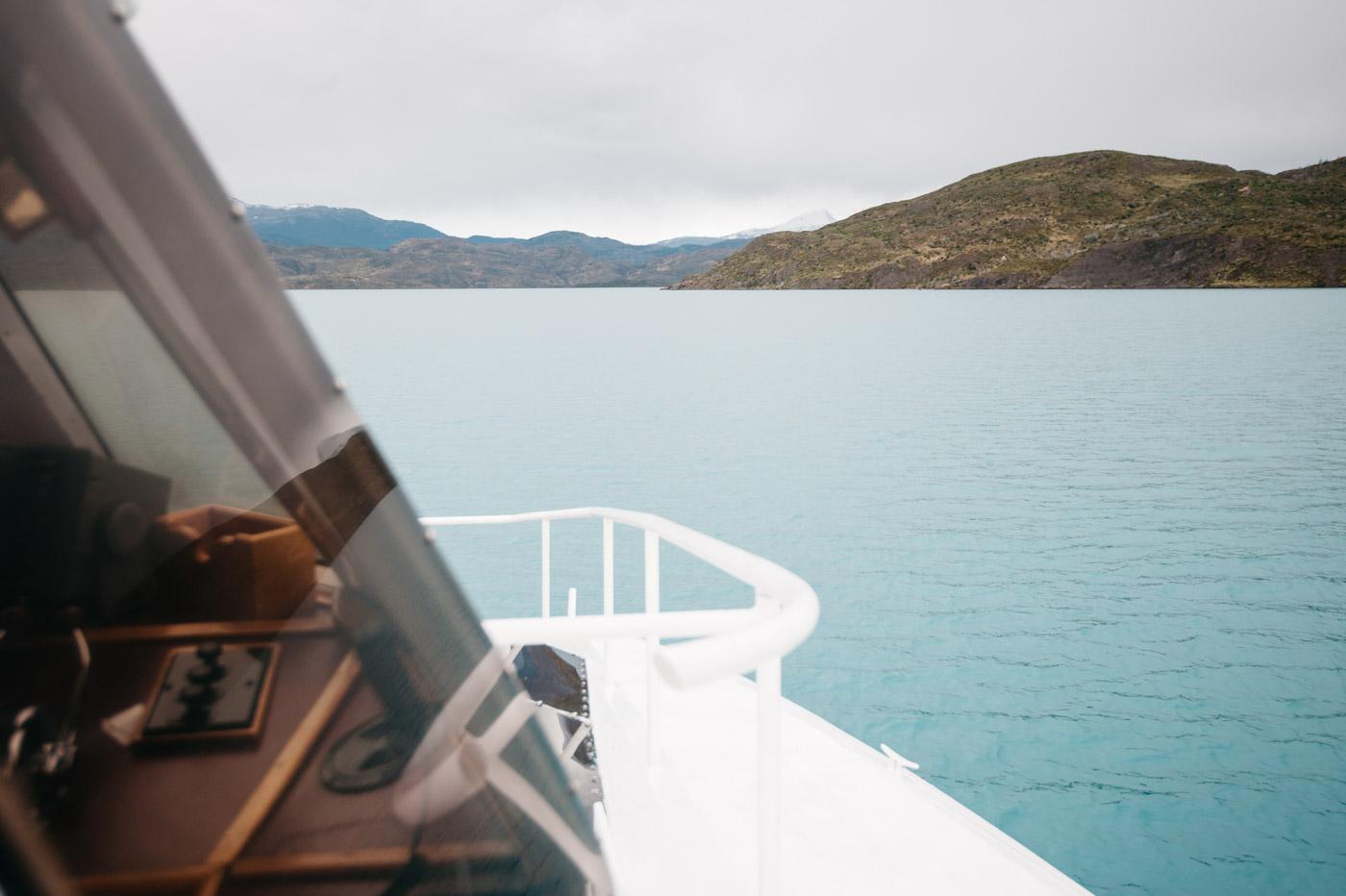 Catamaran Hielos Patagonicos Lago Pehoe View