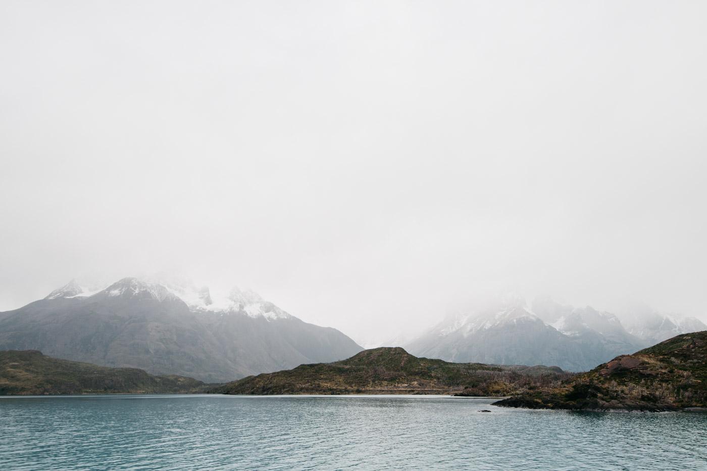 Foggy Torres del Paine