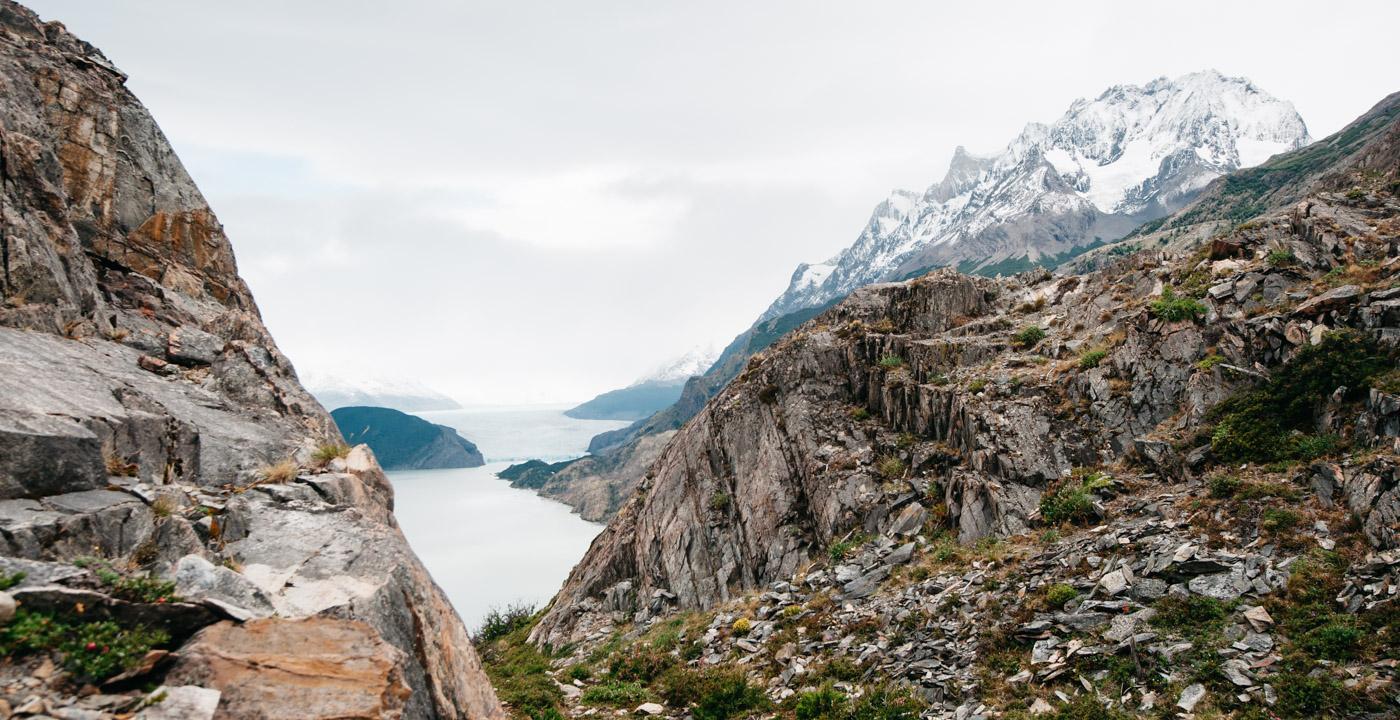 TorresDelPaine SenderoGreyGlaciar Lago Grey