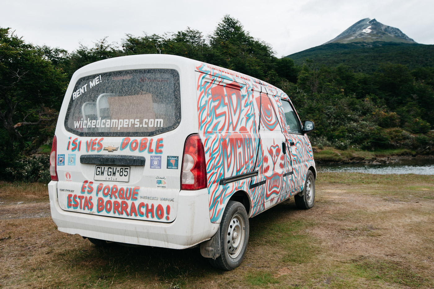 Wicked SouthAmerica Campervan Review-Backview