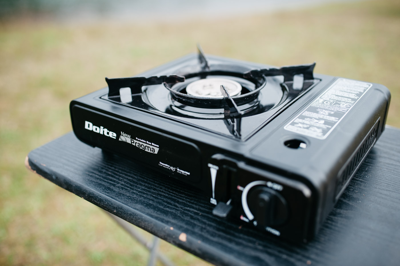 Wicked SouthAmerica Campervan Review-Camping Stove