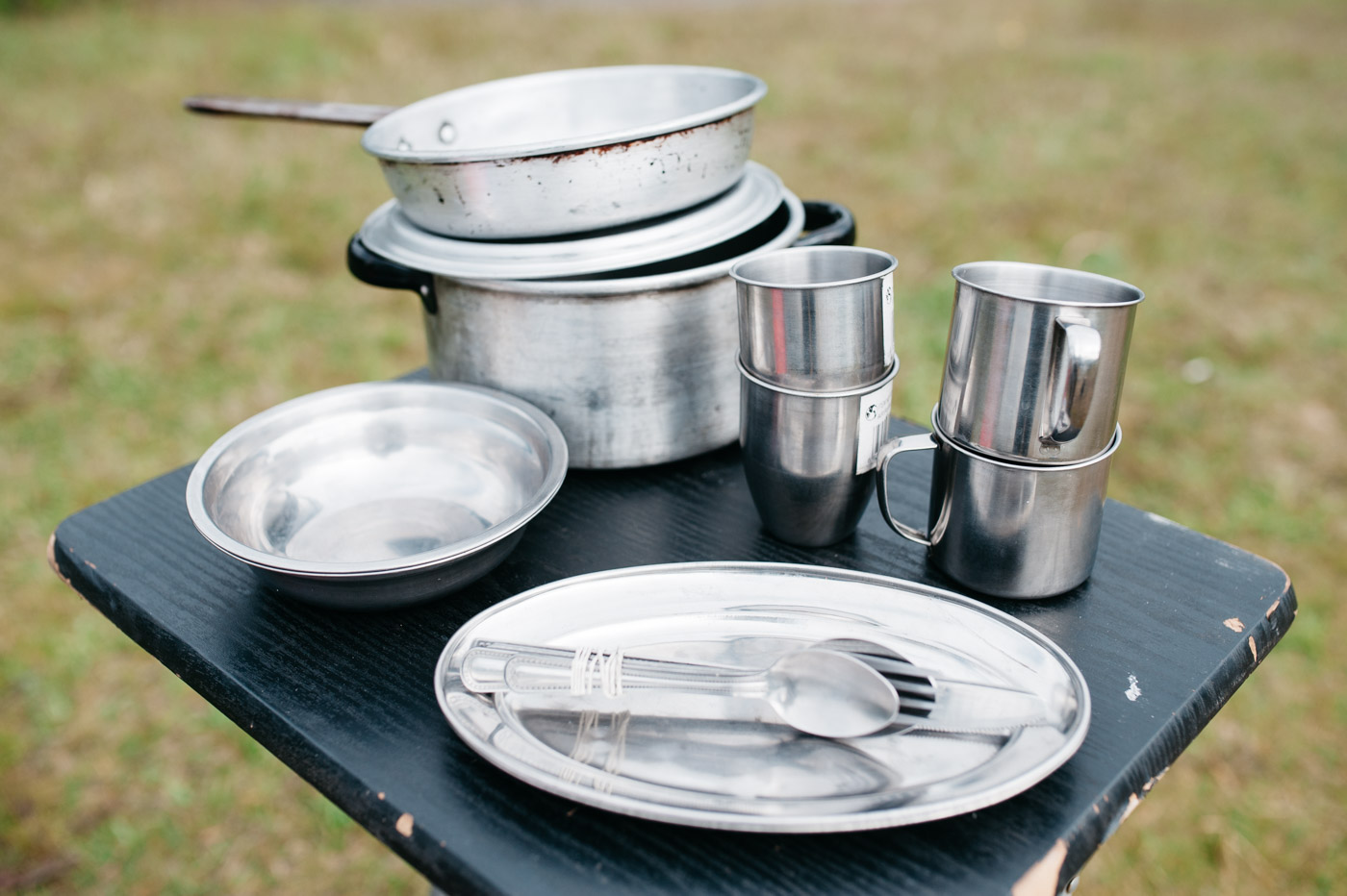 Wicked SouthAmerica Campervan Review-Cookware