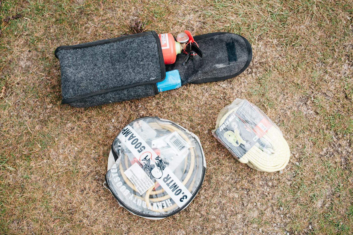 Wicked SouthAmerica Campervan Review-emergency kit