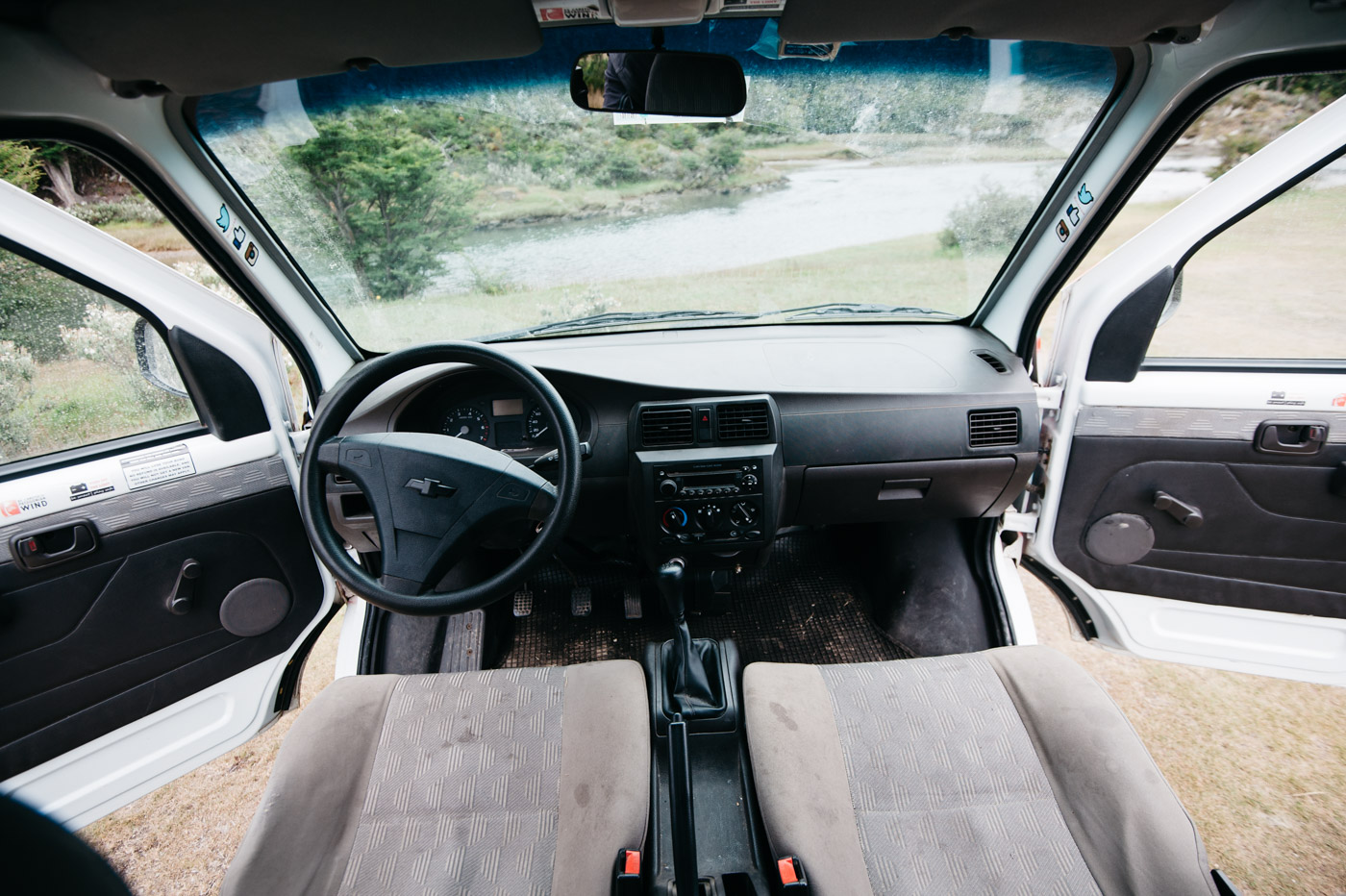 Wicked SouthAmerica Campervan Review Interiour-Cockpit