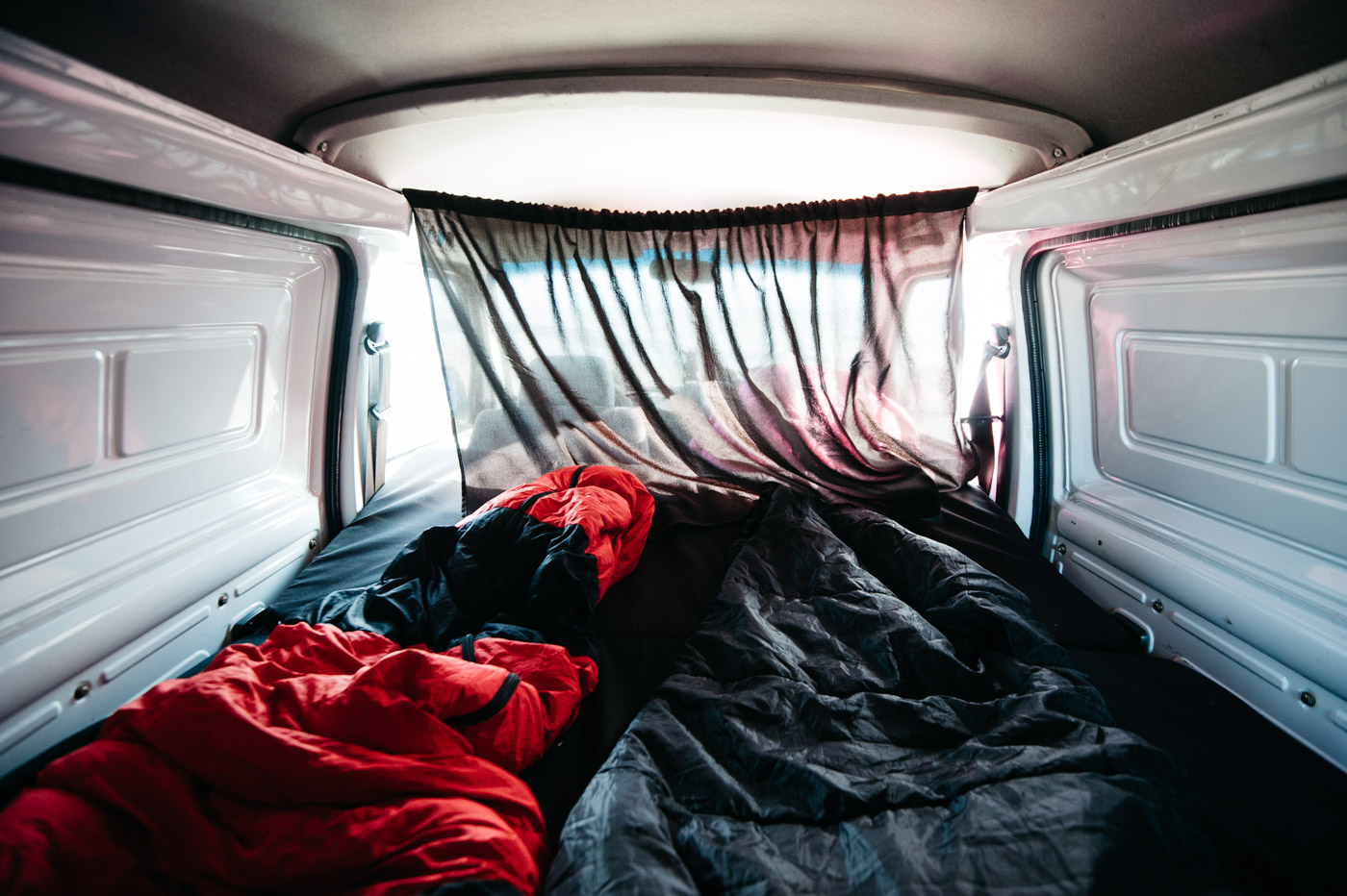 Wicked SouthAmerica Campervan Review Interiour-Sleeping Area