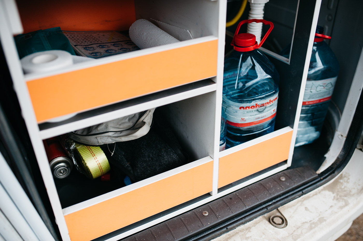 Wicked SouthAmerica Campervan Review Interiour-Kitchen