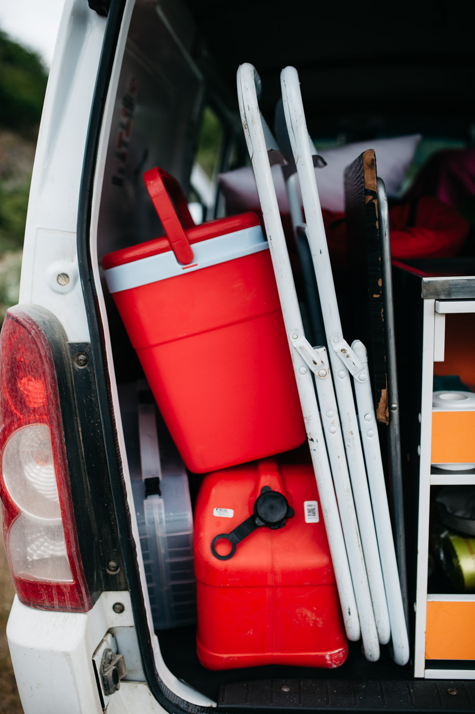Wicked SouthAmerica Campervan Review Interiour-Trunk